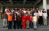 图文-首都媒体高尔夫球队所有参赛选手合影留念