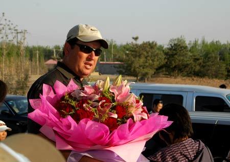 图文-IJGA金牌教练加里到访受到热烈欢迎