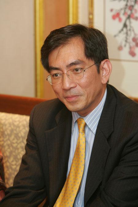 图文-精品名人赛名胜世界有限公司执行副总裁张广正