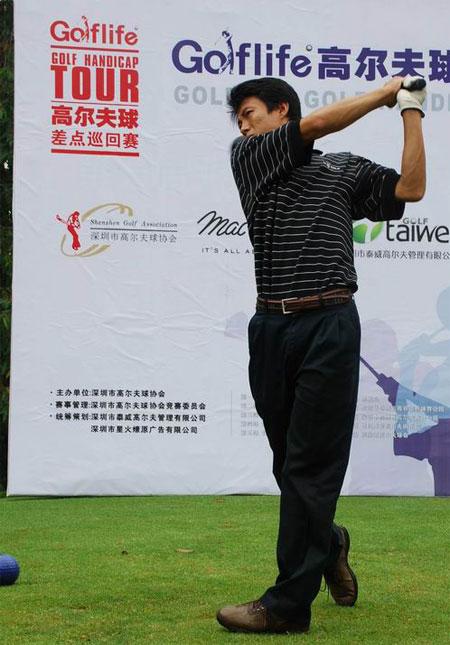 图文-golflife差点巡回赛九龙山站球友期待佳绩