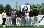 图文-BMW国际高球赛北京燕宝站嘉宾与工作人员