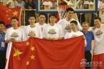 第23届亚洲男篮锦标赛中国男篮庆祝夺冠(共21张)