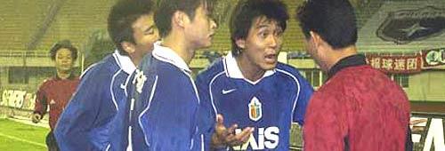 终场前进球被判无效上海国际1-2遗憾不敌辽宁