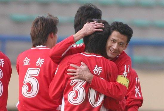 中超-[中超]厦门1-1平实德厦门将士庆祝进球
