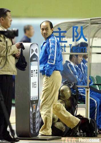 图文-青岛贝莱特0-1天津康师傅汤乐普默默走开