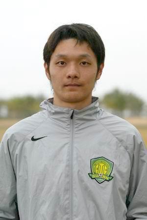 资料图片-中超北京现代队队员照片守门员杨智
