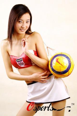 图文-2005年中超宝贝闪亮登场青岛中能
