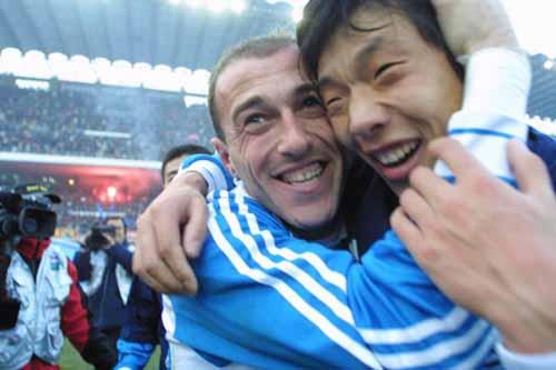 图文-大连足球12年8冠经典瞬间王鹏曾是七星功臣