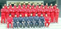 图文-2006赛季中超各队全家福青岛中能队全家福