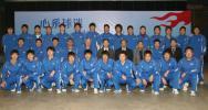 图文-2007中超联赛即将开战天津康师傅全家福