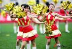 图文-07中超联赛开幕式足球宝贝青春靓丽