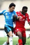 图文-[中超]大连实德0-0厦门蓝狮瞧他俩成对手