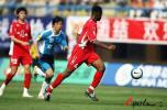 图文-[中超]大连实德0-0厦门蓝狮梅尔坎太敬业了