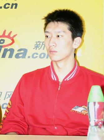 孙悦:年轻球员打球要有活力台湾之行受益匪浅