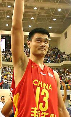 中国队第14次封王亚锦赛姚明两双创四连霸伟业