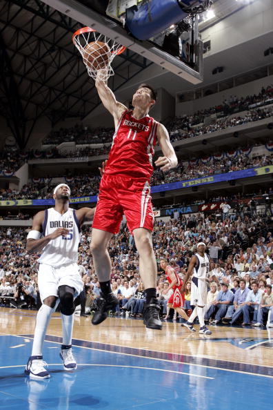 Yao Ming Dunk Without Jumping Can Yao actually jump ...