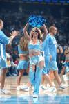 NBA性感女郎-掘金宝贝动感十足金发女郎带动全场