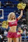 NBA性感女郎-克里夫兰啦啦队骑士女郎热情助威