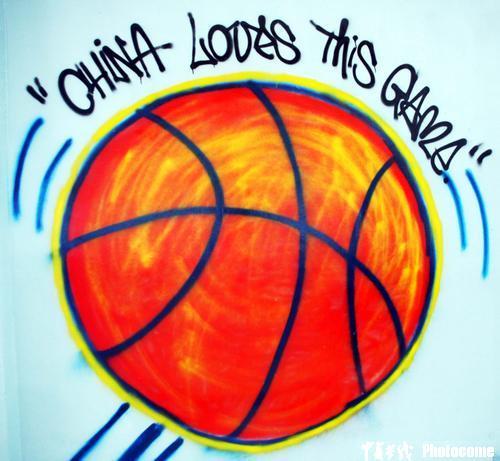 图文-姚明公园漫画迎接巨人迎接到来NBA中国攻受兽人漫画图片