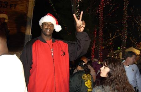 图文-NBA群星欢欢喜喜迎圣诞让时间定格在这一刻