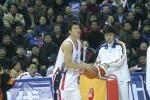 图文-中韩对抗赛再决三分王朱芳雨瞄准目标
