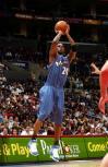 图文-[NBA]奇才94-98快船阿里纳斯飞身上篮