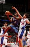 图文-[NBA]奇才94-98快船拉里-休斯跳投