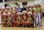 图文-[海峡杯]新浪狮再负奥神台湾土著舞蹈团