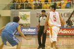 图文-中国男篮76-58中国台北刘炜拿球组织进攻