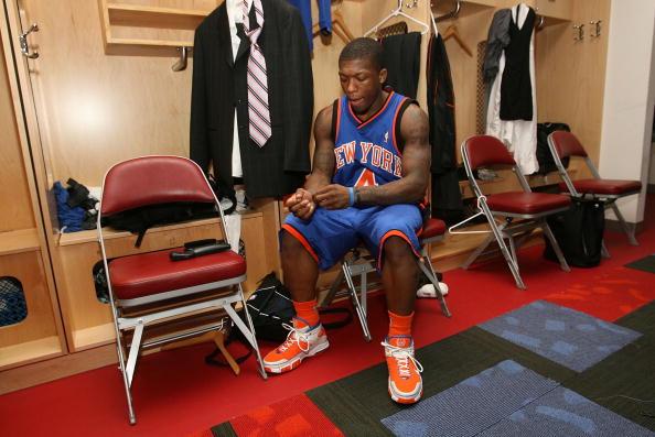 图文-NBA全明星新秀挑战赛罗宾逊:没人理我也清闲