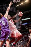 图文-NBA全明星新秀挑战赛博格特不让罗尔-邓如愿