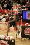 图文-NBA全明星技巧挑战赛詹姆斯快速运球过人