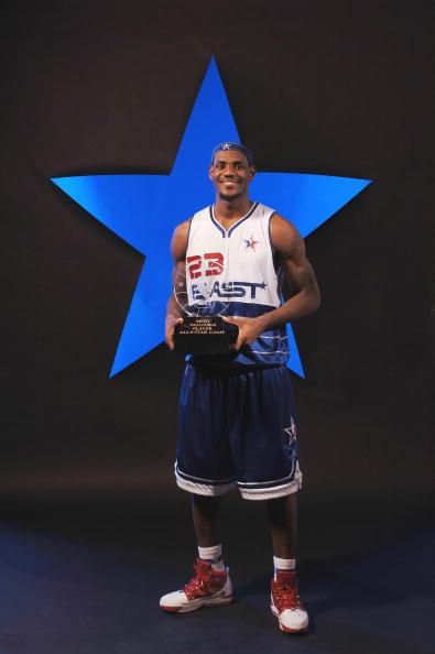 图文-詹姆斯荣膺NBA全明星赛MVP小皇帝光耀休斯敦