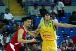 图文-[斯杯]中国男篮vs澳大利亚姚明PK博格特