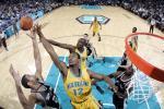 图文-[NBA]马刺vs黄蜂邓肯一人独抗对手两大将