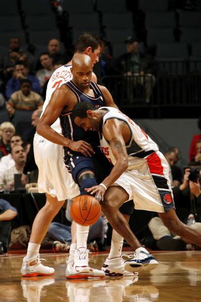 图文-[NBA]篮网vs山猫卡特防守遭遇对手挡拆