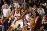 图文-[NBA]开拓者101-106太阳马里昂积极防守
