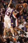 图文-[NBA]开拓者101-106太阳纳什飞身封盖