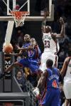 图文-[NBA]尼克斯105-107雄鹿克劳福德巧上篮
