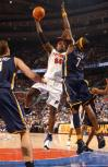 图文-[NBA]步行者87-95活塞韦伯单挑小奥尼尔