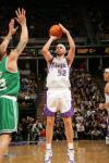 图文-[NBA]凯尔特人101-104国王布拉德-米勒远投
