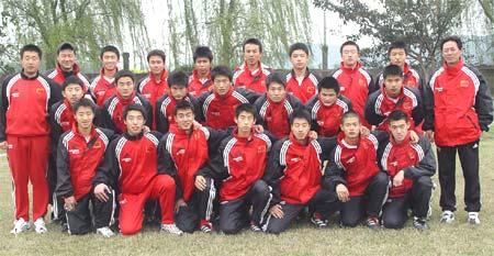 U17国青出访泰国、缅甸教练员、队员名单(附