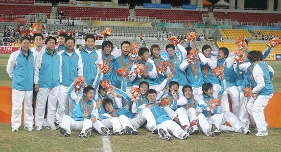 东亚运-陈涛爆发一锤定音中国队1-0胜朝鲜夺冠