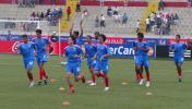 图文-[世少赛]中国VS哥斯达黎加哥队小将准备出场
