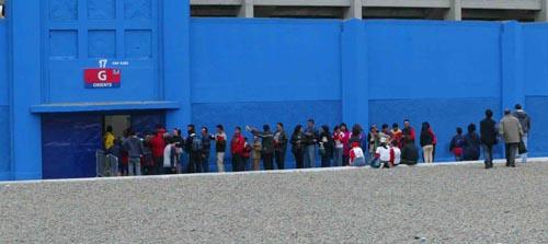 图文-[世少赛]中国VS哥斯达黎加球场入口挺隐蔽