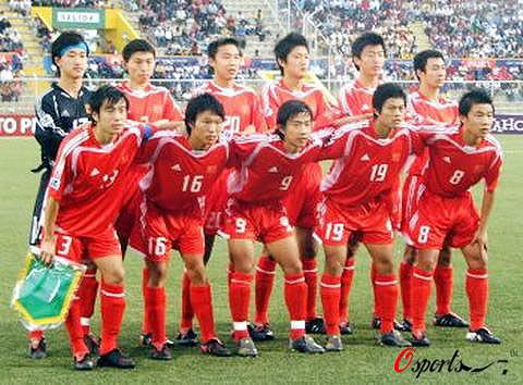 图文-[世少赛]中国平加纳晋级八强国少首发决战加纳