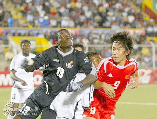 图文-国少1-1平加纳晋级八强古今今领先国少锋线