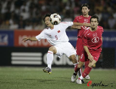 图文-[世少赛]中国1-5土耳其锋线小将不言放弃