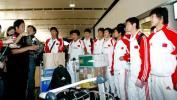 图文-U17结束秘鲁世青赛回到北京最后的总结会
