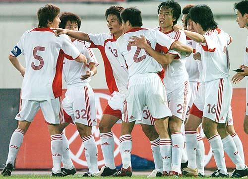 图文-[亚洲杯]中国2-0巴勒斯坦国足亚洲杯首场完胜
